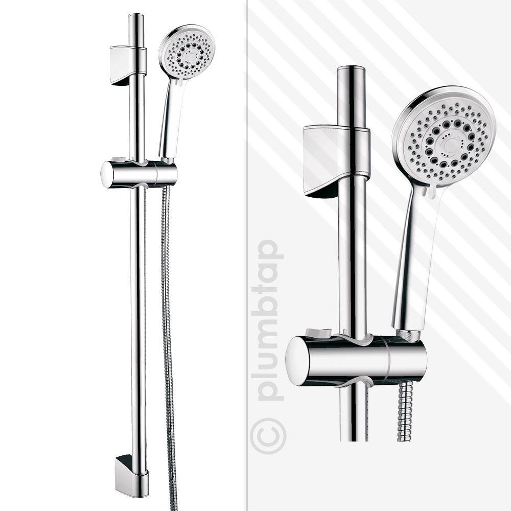 EcoSpa Jude Universal Shower Kit in Chrome